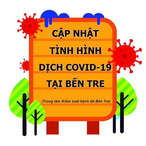 Cập nhật tình hình Covid-19 tại Bến Tre từ 18 giờ ngày 04/8 đến 06 giờ ngày 05/8/2021